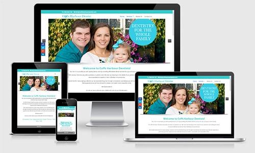 Coffs Harbour Dentist website