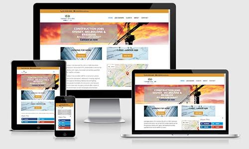 LLHire small business website Sydney