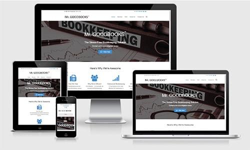 Mr GoodBooks bookkeeper website