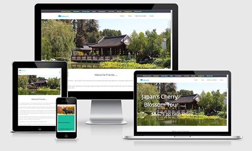 Sydney Travel Group web design Drummoyne