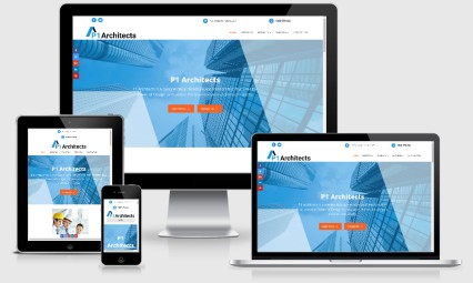P1 Architects website Sydney