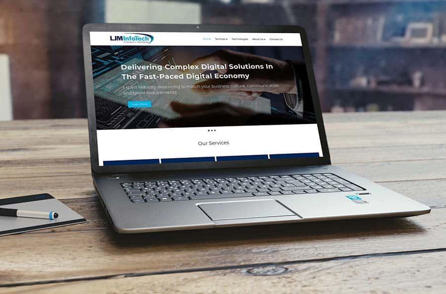 LJM Infotech website Barangaroo
