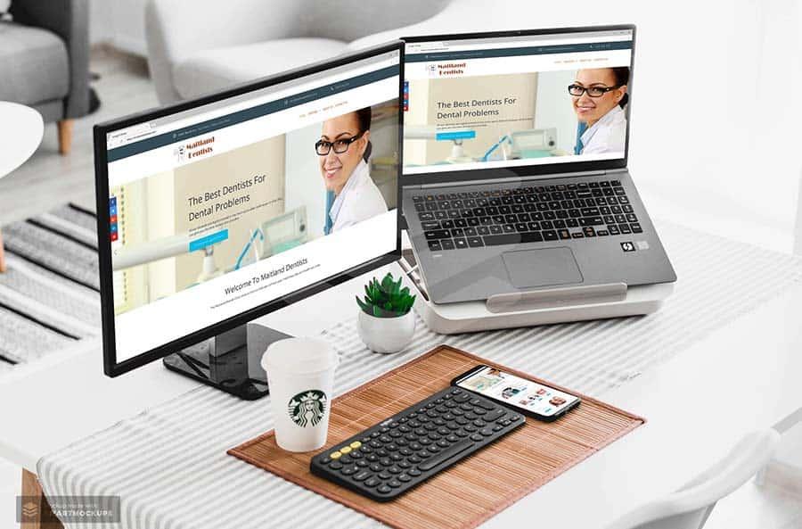 Maitland Dentists website