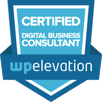 WPE Certified Digital Business Consultant badge